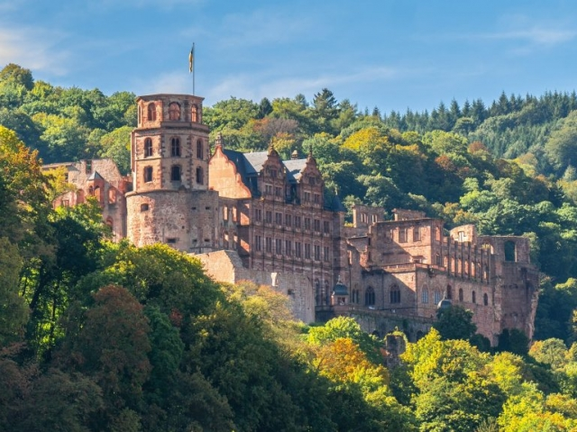 European Sampler, Heidelberg Castle, Germany