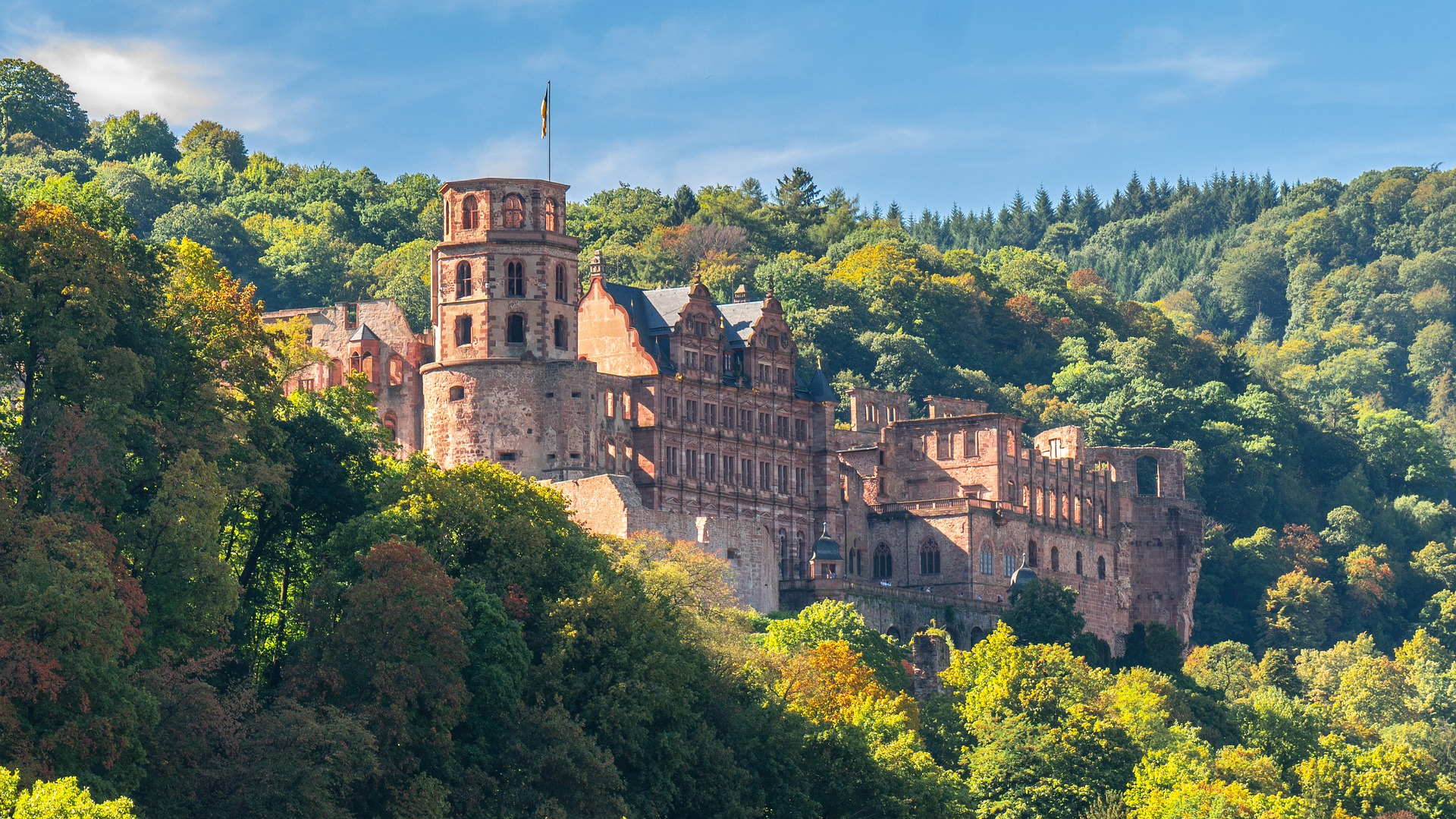European Sampler, Heidelberg Castle, Germany