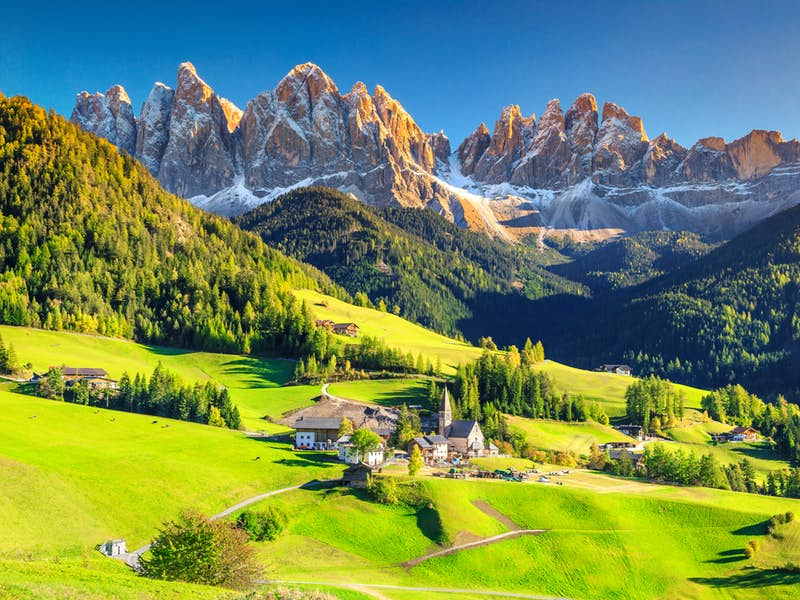 From Rome to London - Italy, Dolomites Mountains