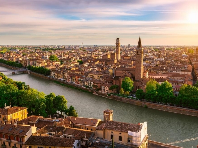 Seven Countries, Venice & Paris - Italy, Verona