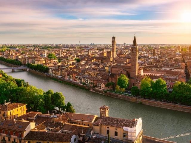 Seven Countries, Venice & Paris - Italy, Verona