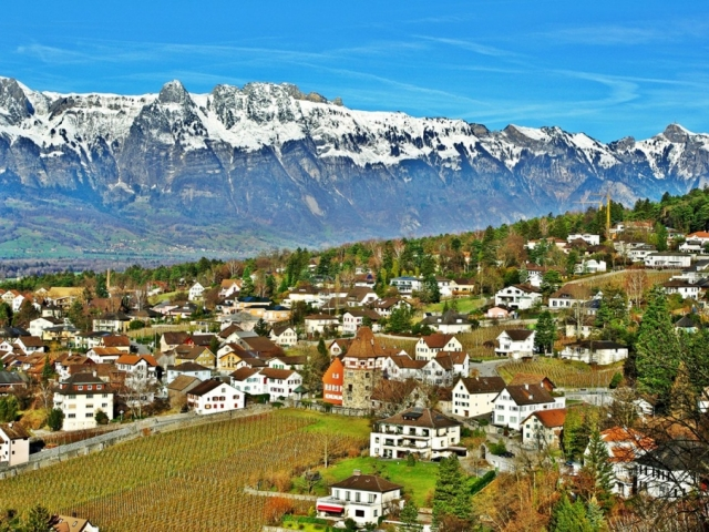 From Rome to London - Liechtenstein, Vaduz