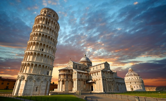 Continental Introduction, Leaning Tower of Pisa, Italy