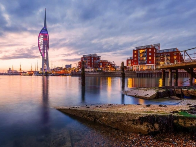 WWI & WWII Battlefields, Spinnaker Tower, Portsmouth, England