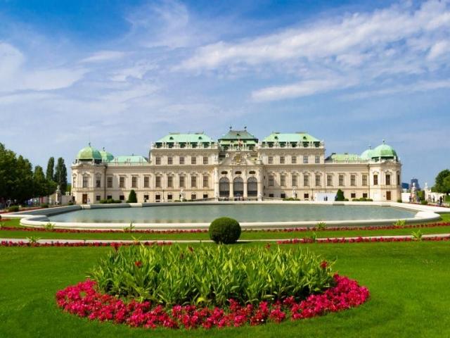 Munich, Salzburg & Vienna - Belvedere Palace, Vienna, Austria