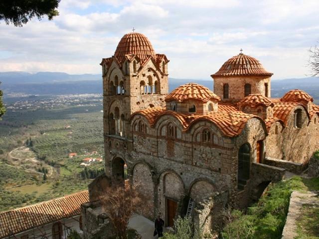 The Best of Greece, Byzantine Citadel Of Mystra, Mystra, Greece