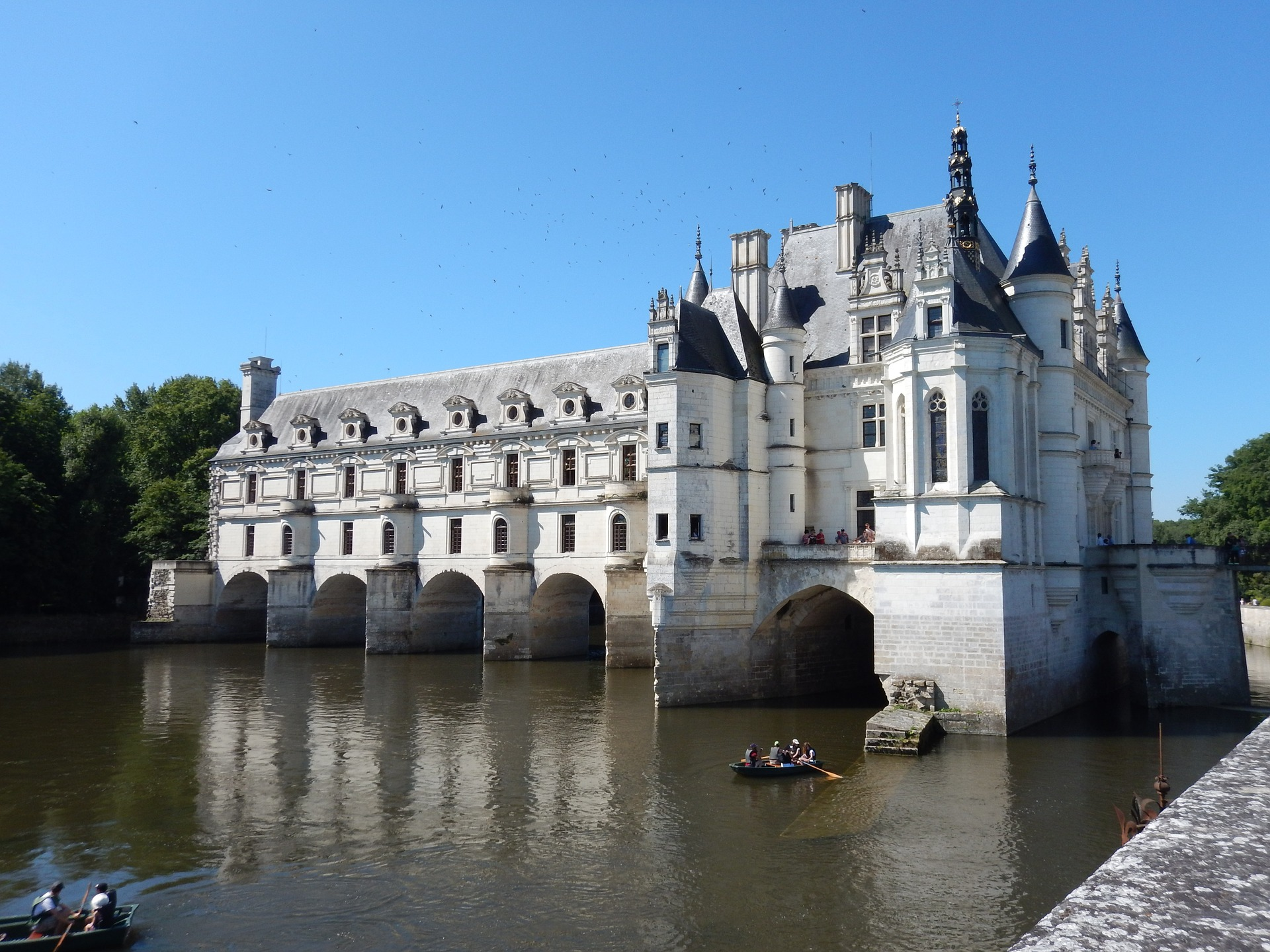 Paris, Normandy & the Loire - Château of Chenonceau, Loire Valley, France