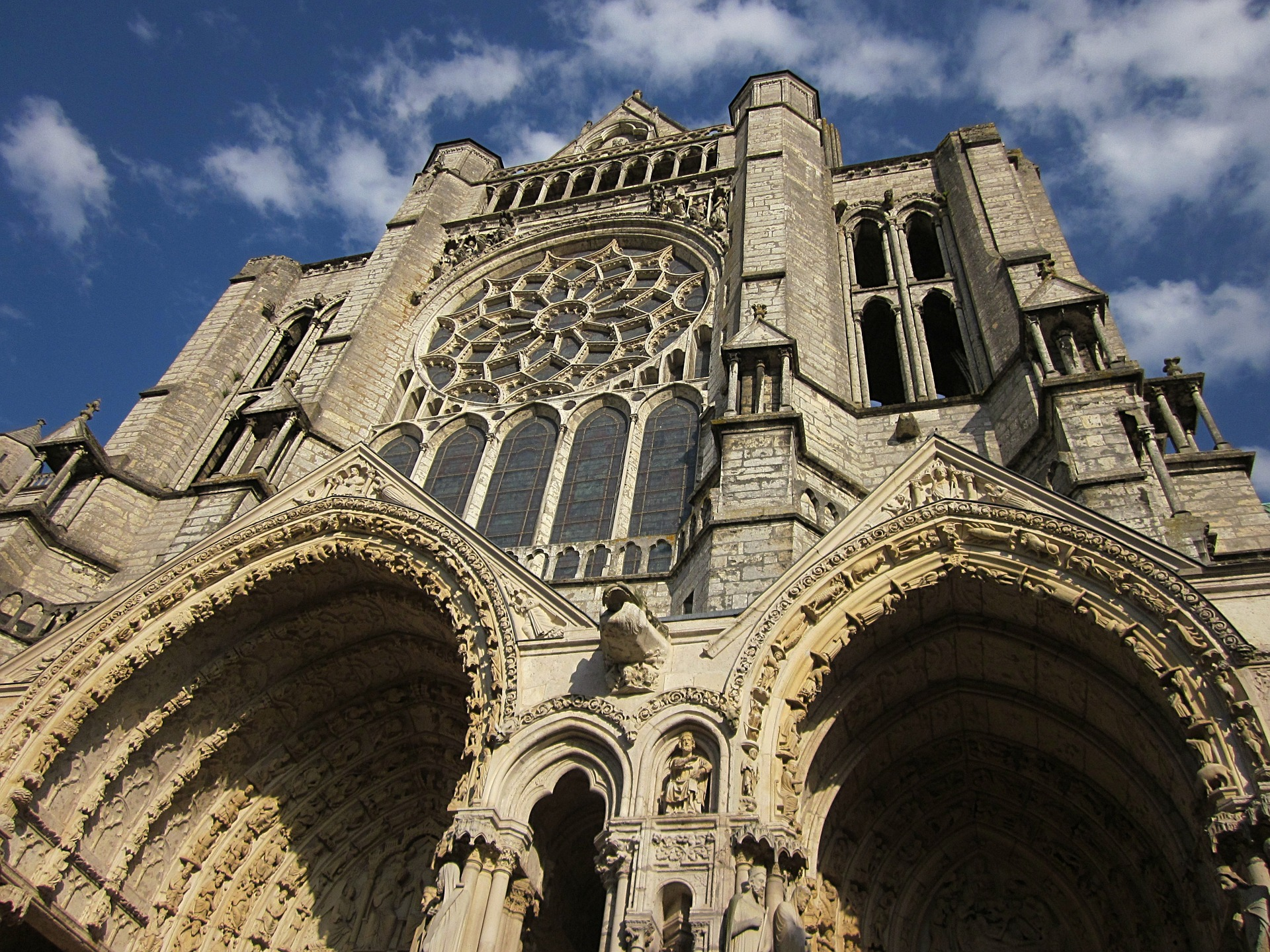 Paris, Normandy & the Loire - Chartres Cathedral, Chartres, France