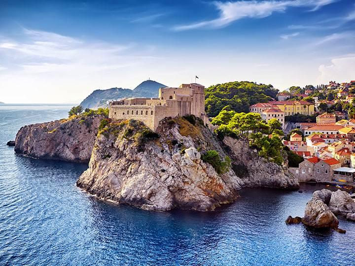 Scenic Slovenia & Croatia, Fortresses Lovrijenac and Bokar, Dubrovnik, Croatia