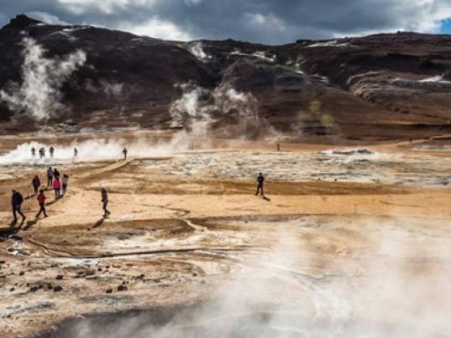 Natural Wonders of Iceland, Lake Myvatn, Iceland