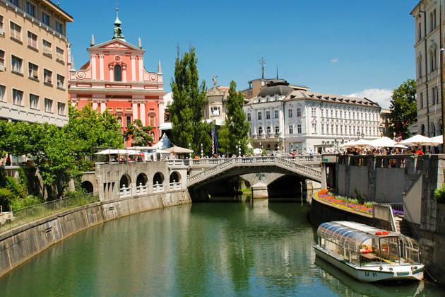 Scenic Slovenia & Croatia, Ljubljana, Slovenia