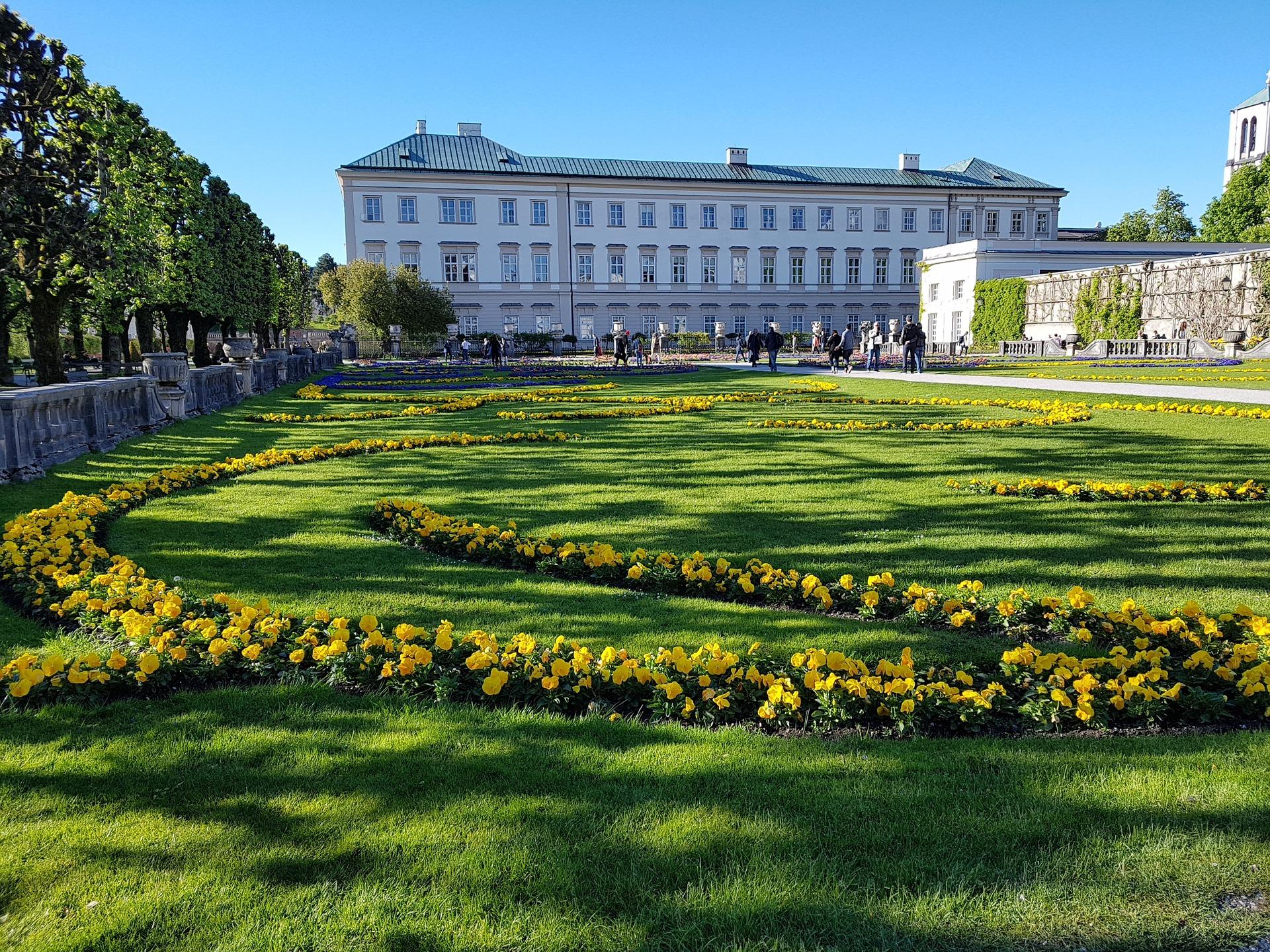 Munich, Salzburg & Vienna - Mirabell Gardens, Salzburg, Austria