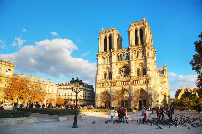 La France, Notre Dame Cathedral, Paris, France