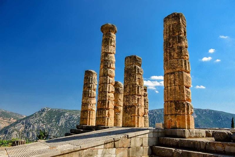 Best of Greece, Oracle of Delphi, Delphi, Greece