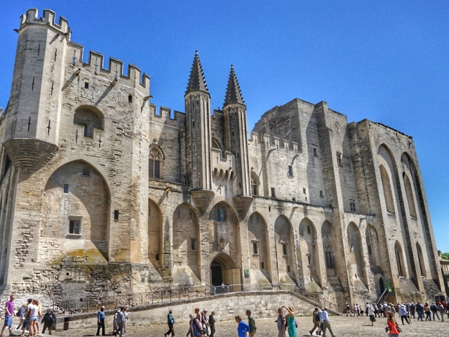 Paris, Champagne & The French Countryside | Palace of the Popes, Avignon