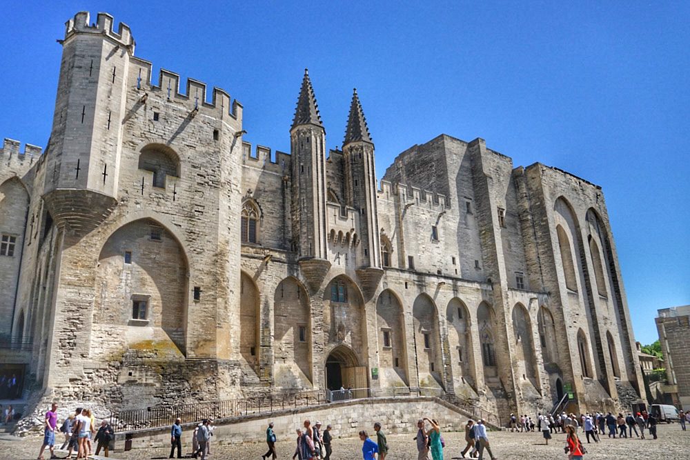 Paris, Champagne & The French Countryside - Palace of the Popes, Avignon