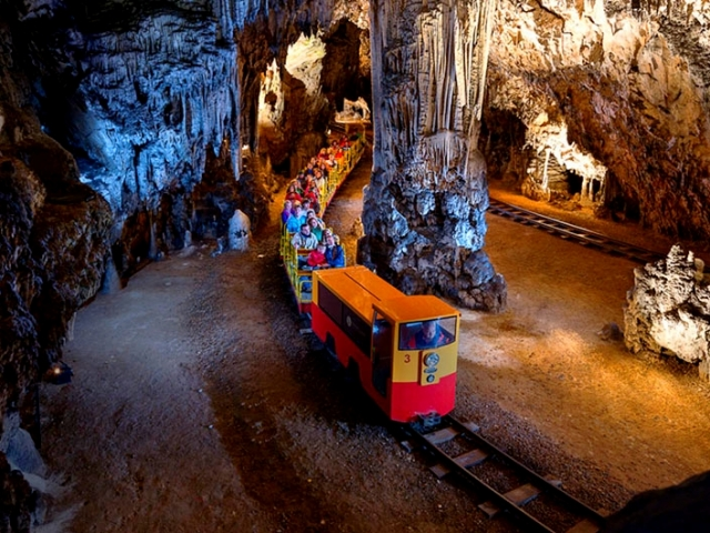 The Croatian, Postojna Caves, Slovenia
