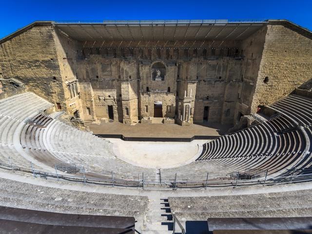 Provence & The French Riviera, Roman Theatre, Orange, France
