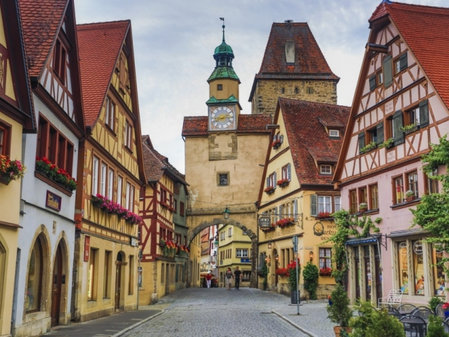 German Vista, Rothenburg, Germany