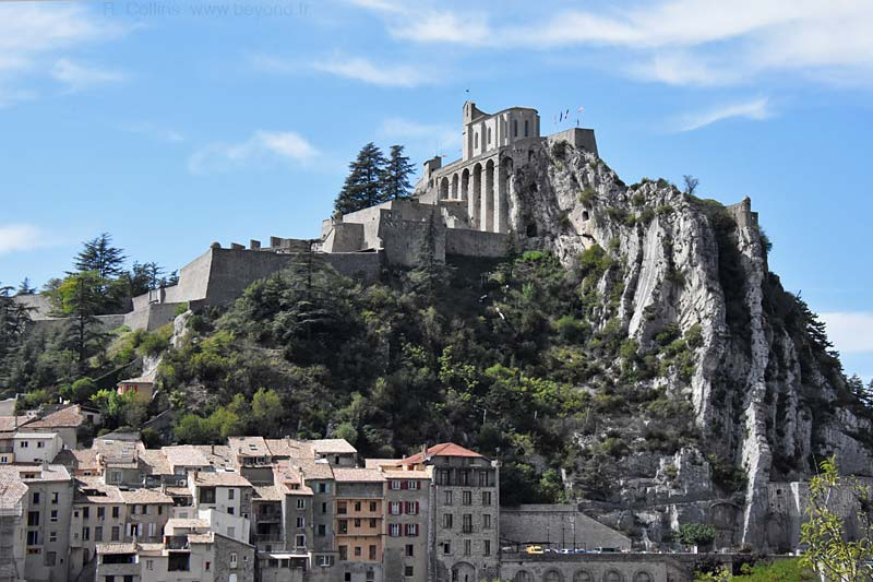 Paris to Nice through Vineyards & Mountains, Sisteron Citadel, Sisteron, France