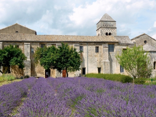 Paris, Champagne & The French Countryside | St. Paul du Mausole Monastery, St. Remy-De-Provence, France