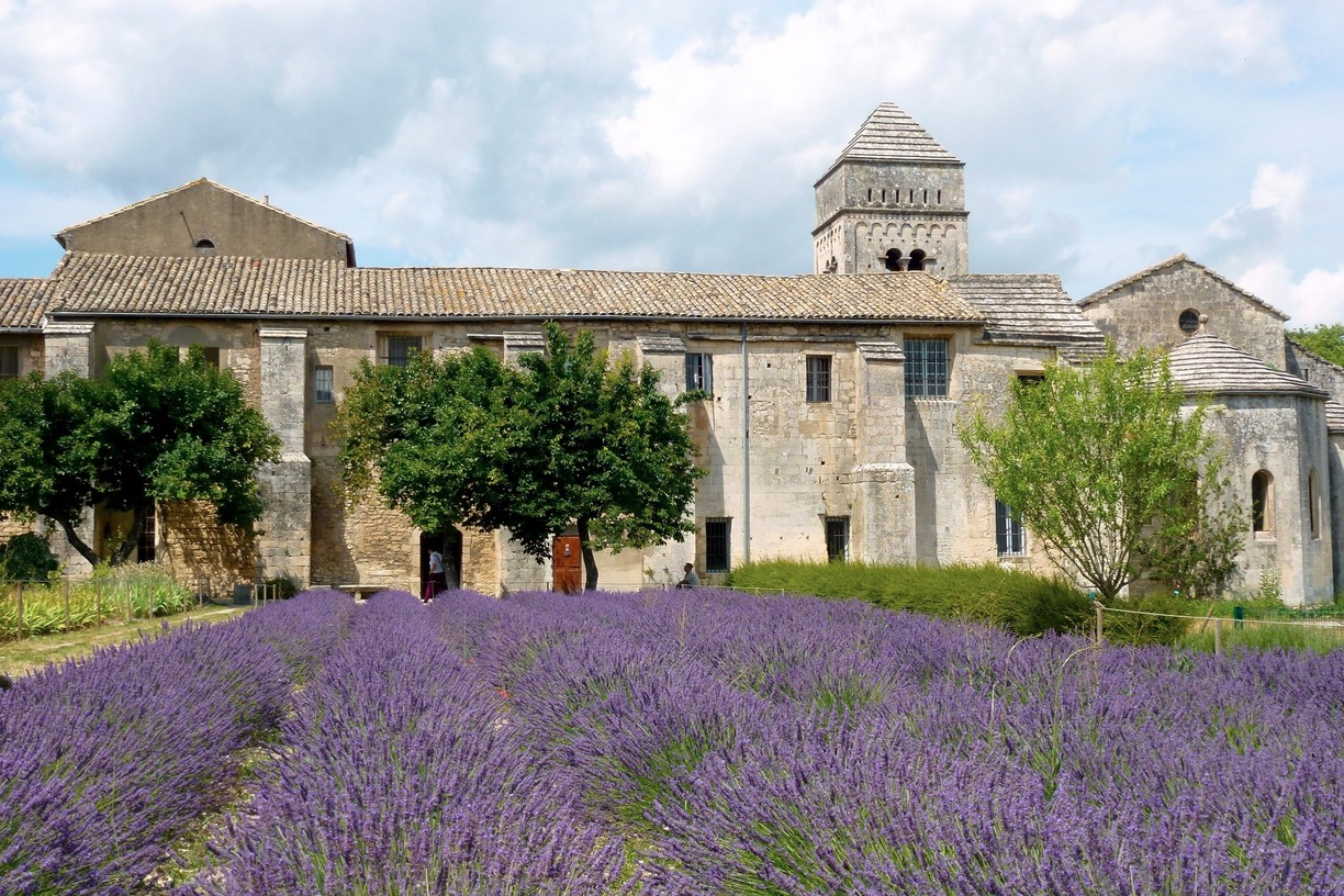 Paris, Champagne & The French Countryside - St. Paul du Mausole Monastery, St. Remy-De-Provence, France