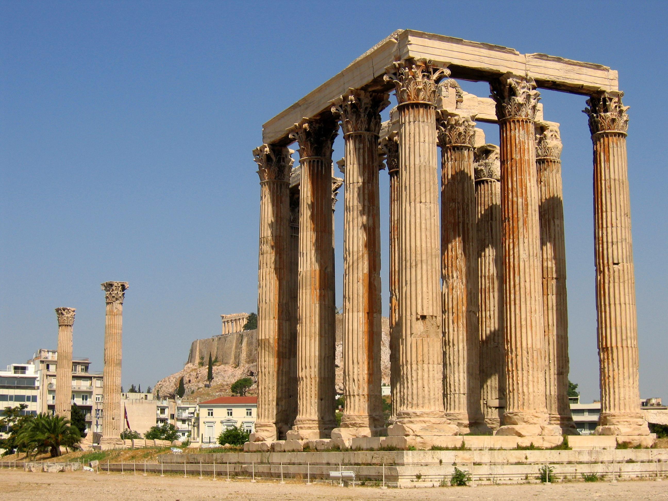 Classical Greece | Temple of Zeus, Athens, Greece