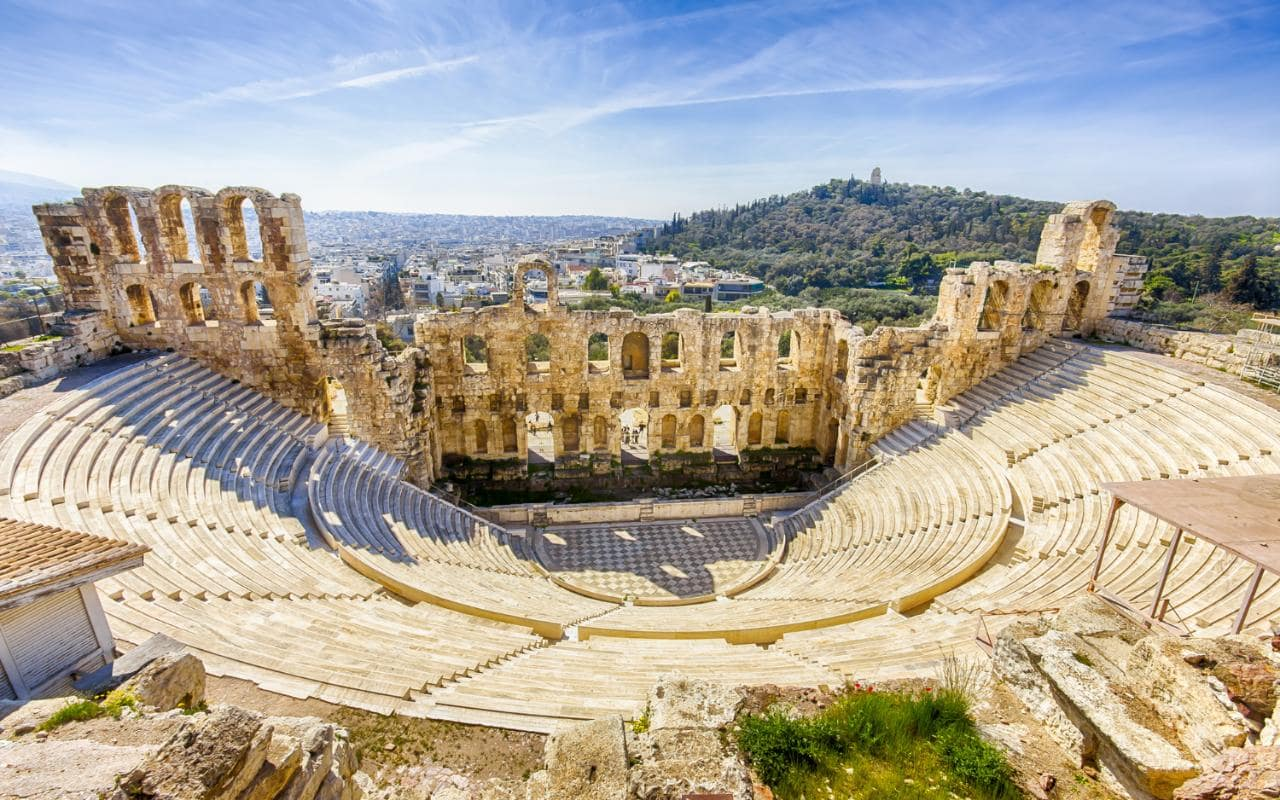 Classical Greece | Theatre of Dionysus, Athens, Greece