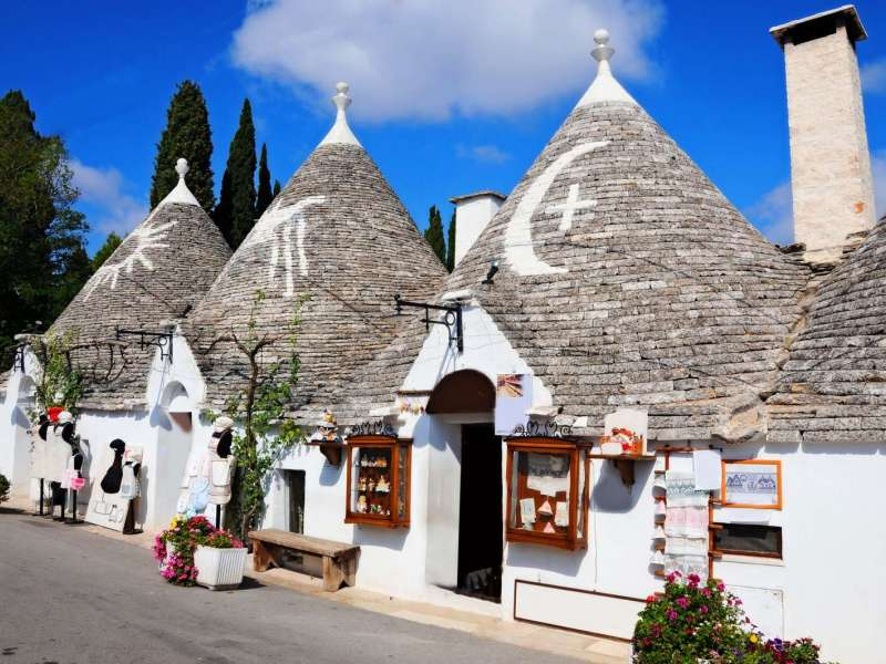 Apulia, the Heel of Italy, Alberobello, Italy