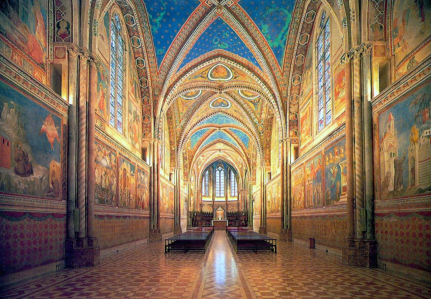 The Splendours Of Italy, Basilica of St Francis, Assisi, Italy