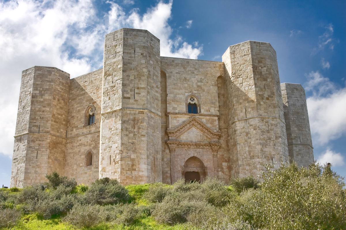 Apulia, the Heel of Italy, Castel del Monte, Andria, Italy