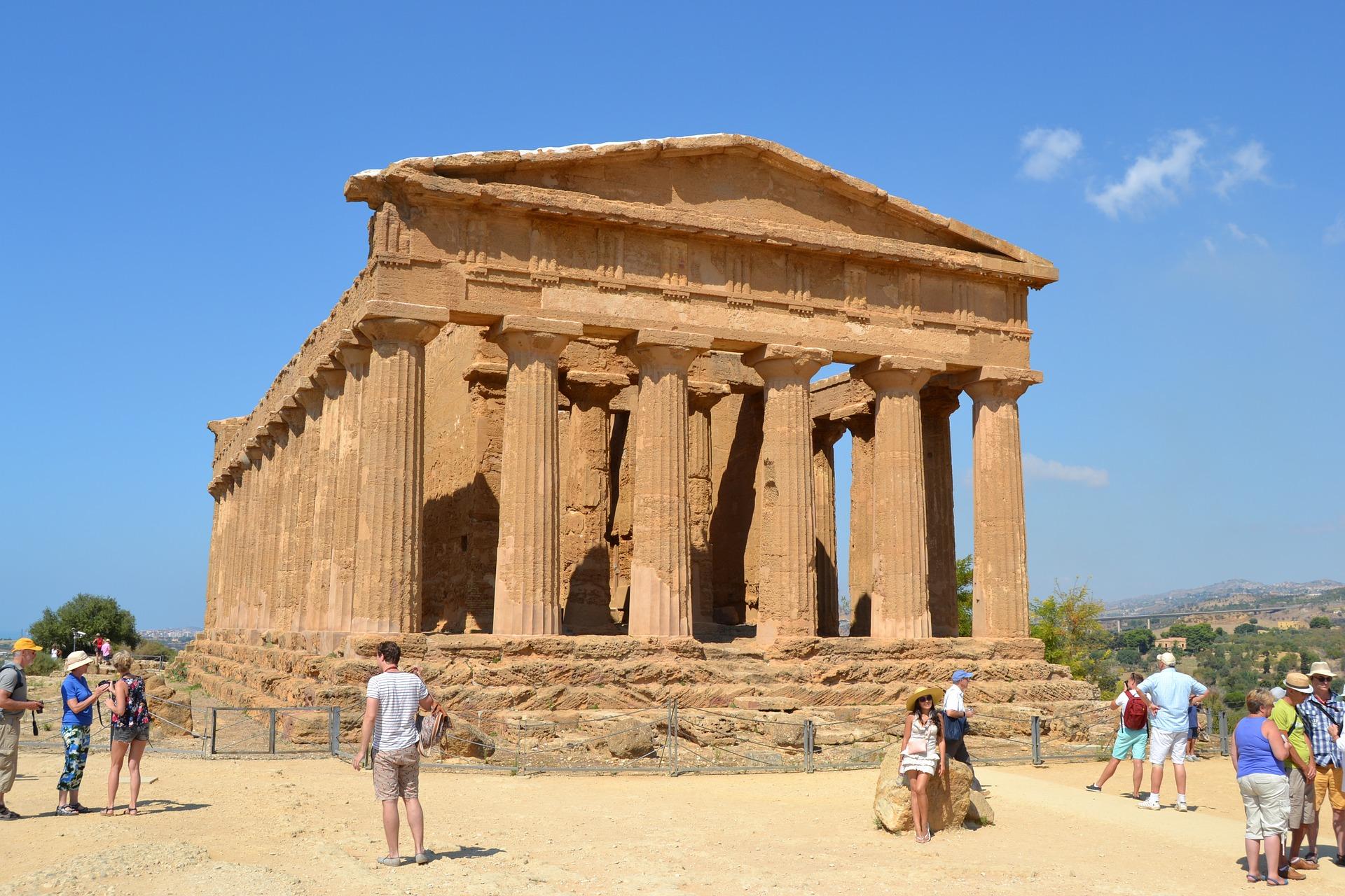 Sicily | Doric Temple of Concord, Agrigento