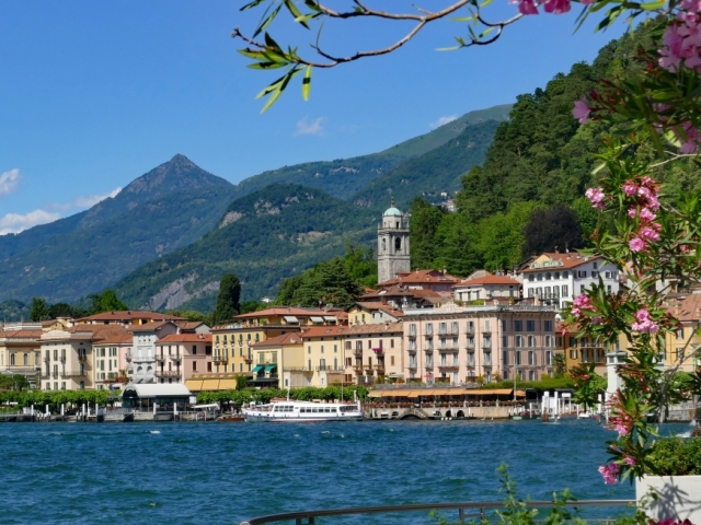 Country Roads of Northern Italy, Lake Como, Italy