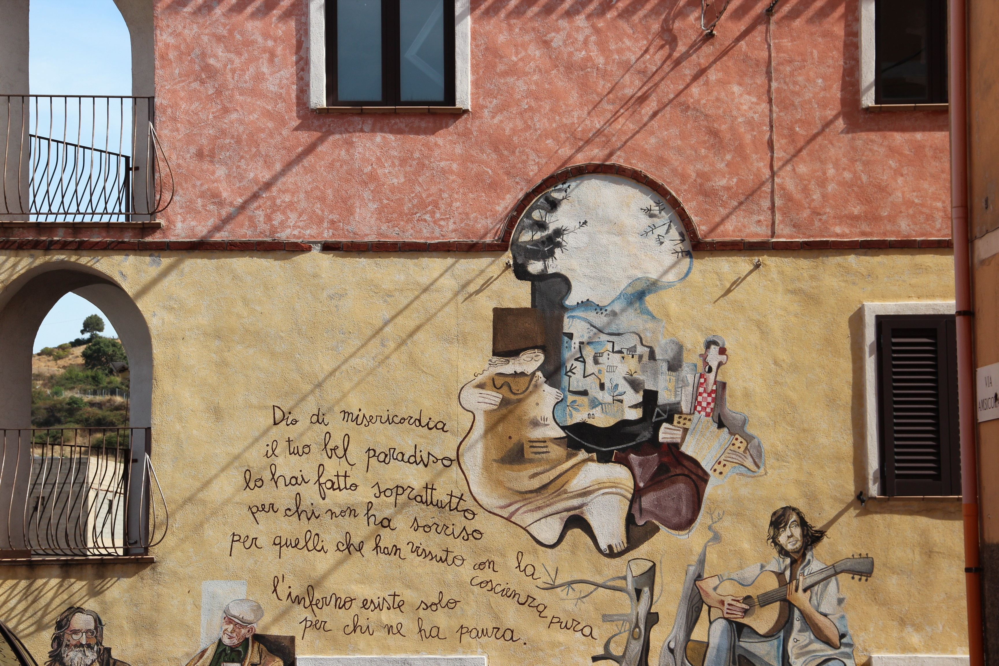 Sardinia & Corsica - Orgosolo Murals, Sardinia