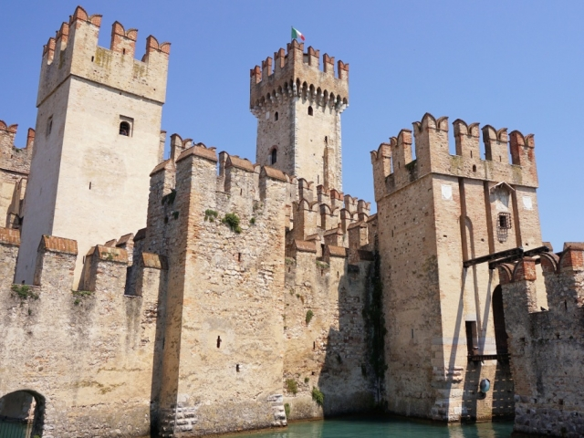 Country Roads of Northern Italy, Scaligero Castle, Sirmione