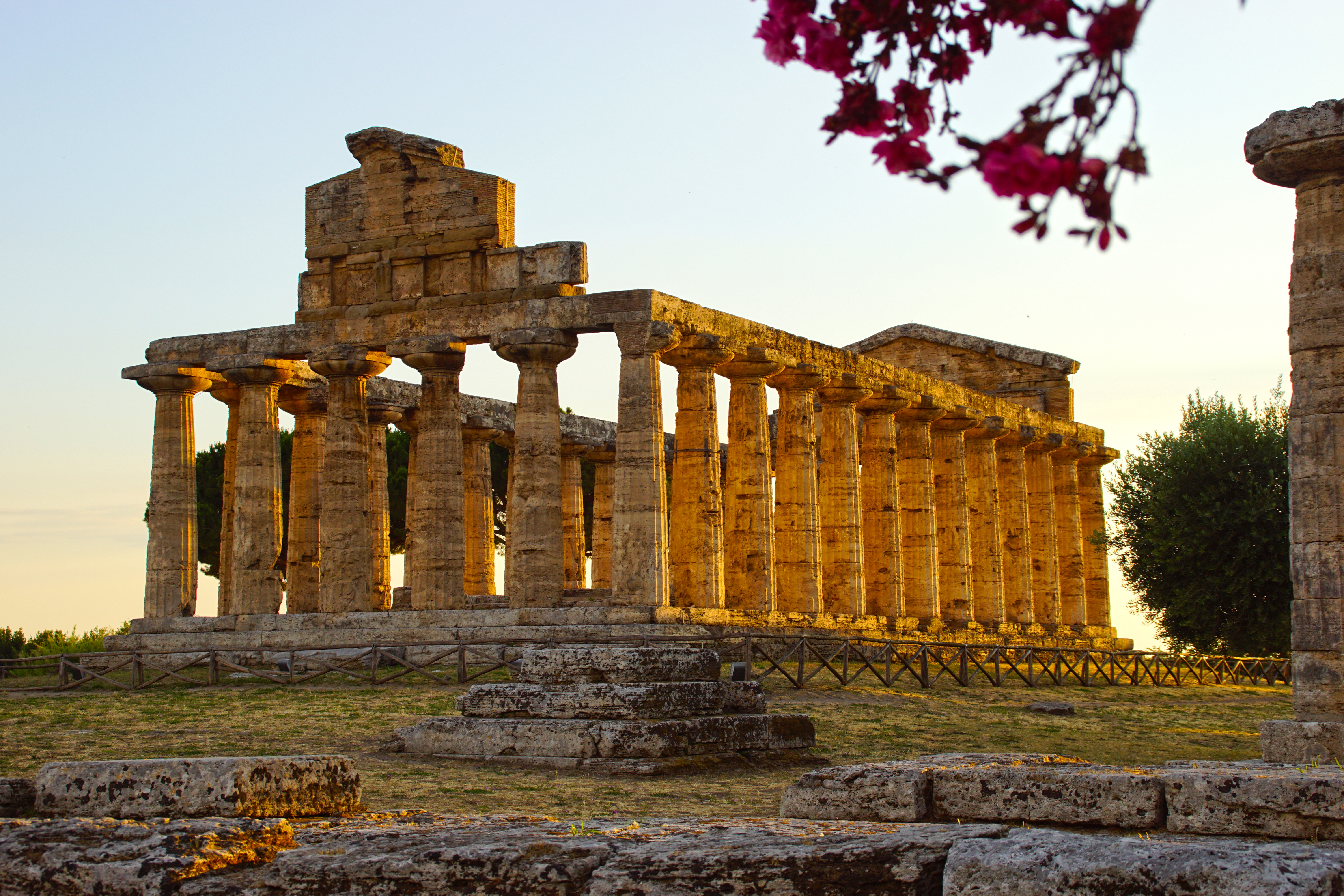 Enchanting Southern Italy, Temple of Athena, Paestum, Italy
