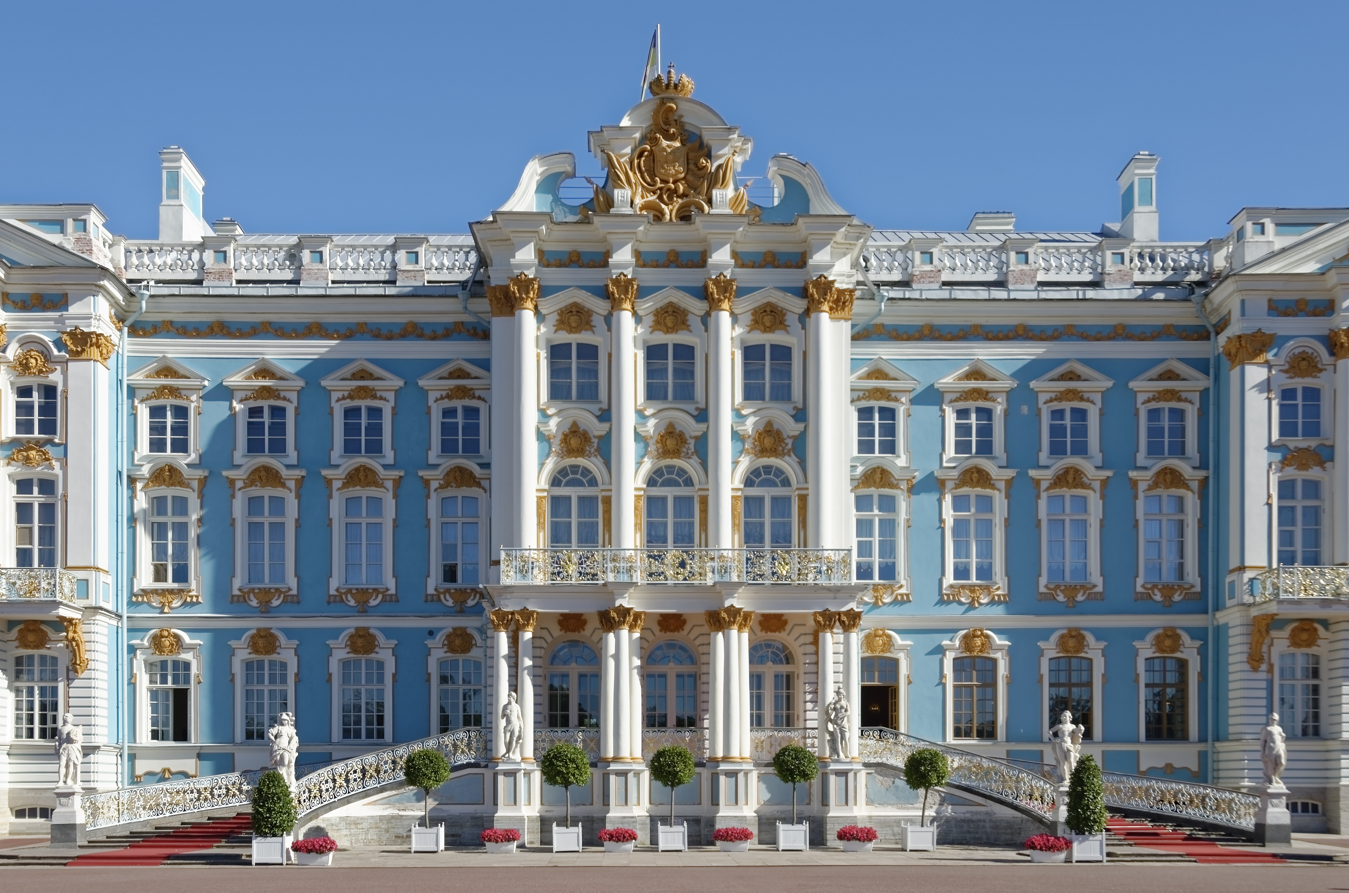 A Taste of Russia | Catherine Palace, summer residence of the Russian tsars, St. Petersburg, Russia