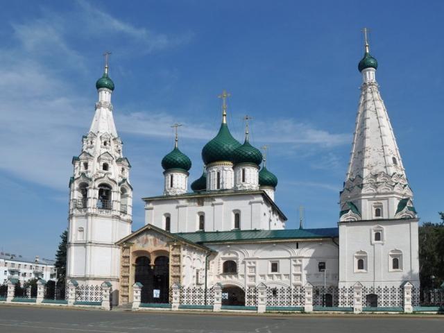 The Golden Ring - Church of Elijah the Prophet, Yaroslavl, Russia