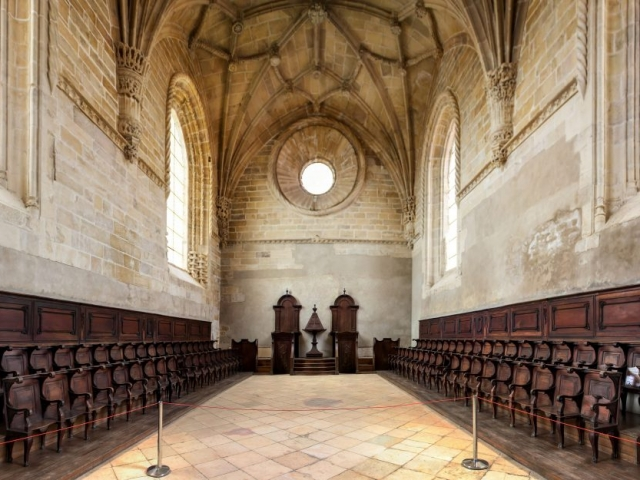 Portugal in Depth - Convent of Christ, castle of the knights templar, Tomar, Portugal