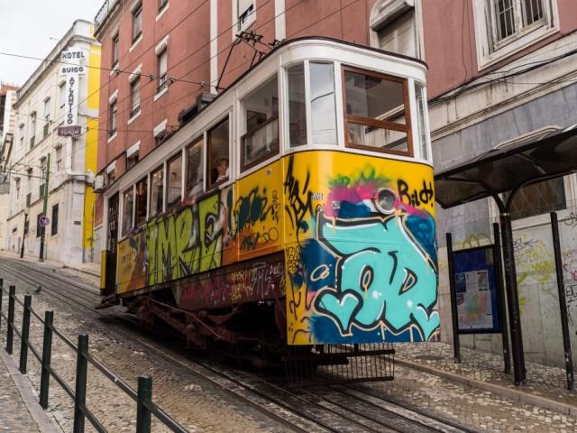 Portugal Explorer - Elevador da Glória Tram, Lisbon Portugal