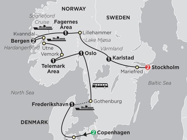 Focus on Scandinavia