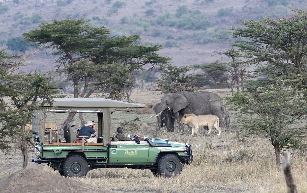 Great Plains Conservations' Mara Plains Camp by Garth Thompson, Africa