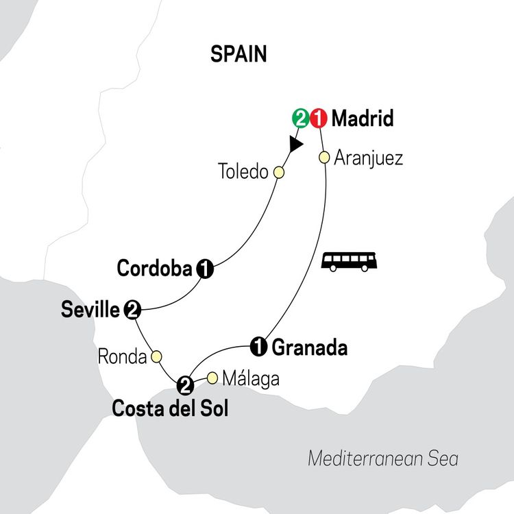 Madrid & Southern Spain