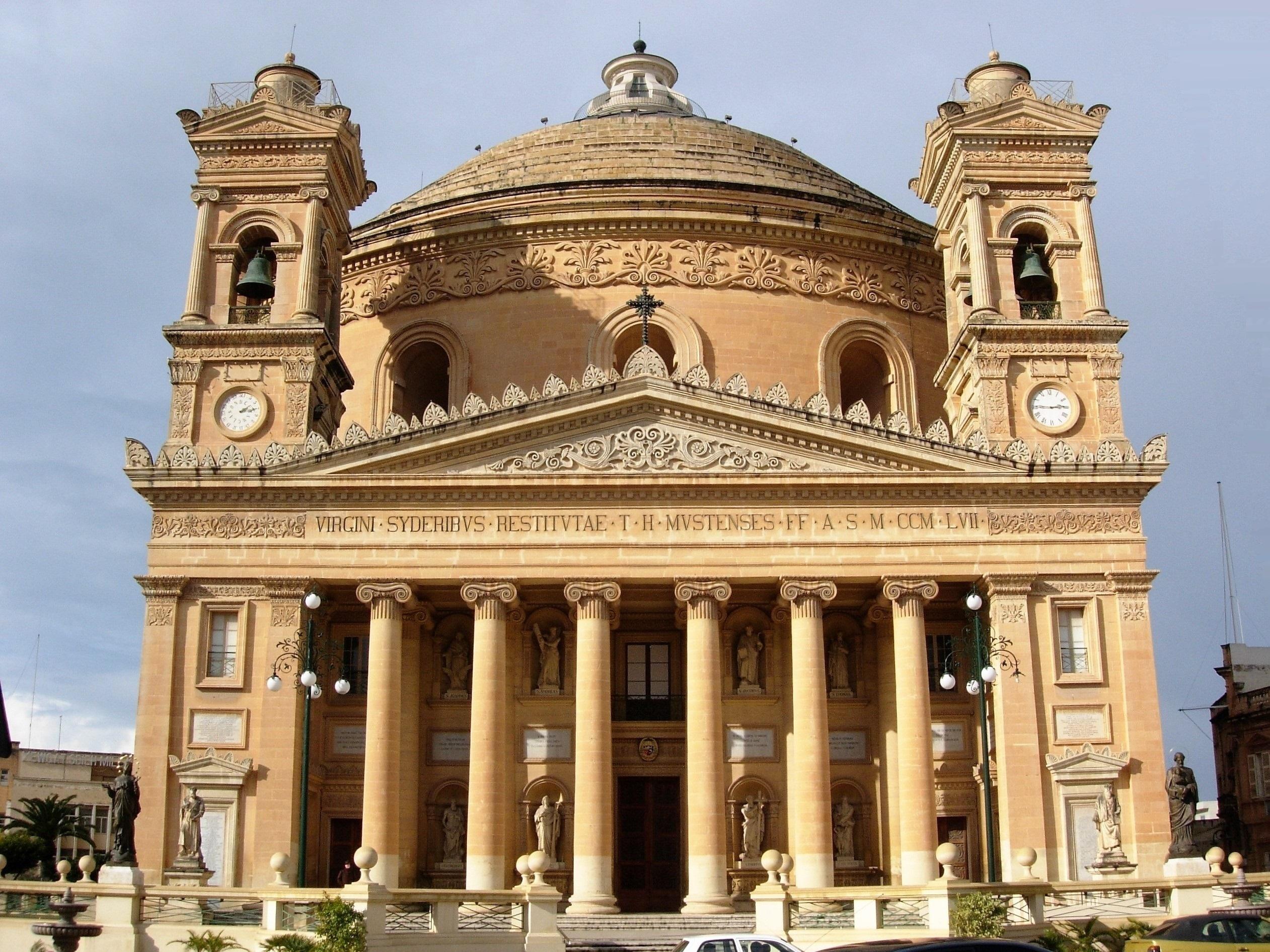 Malta Highlights | Mosta Church, Mosta, Malta