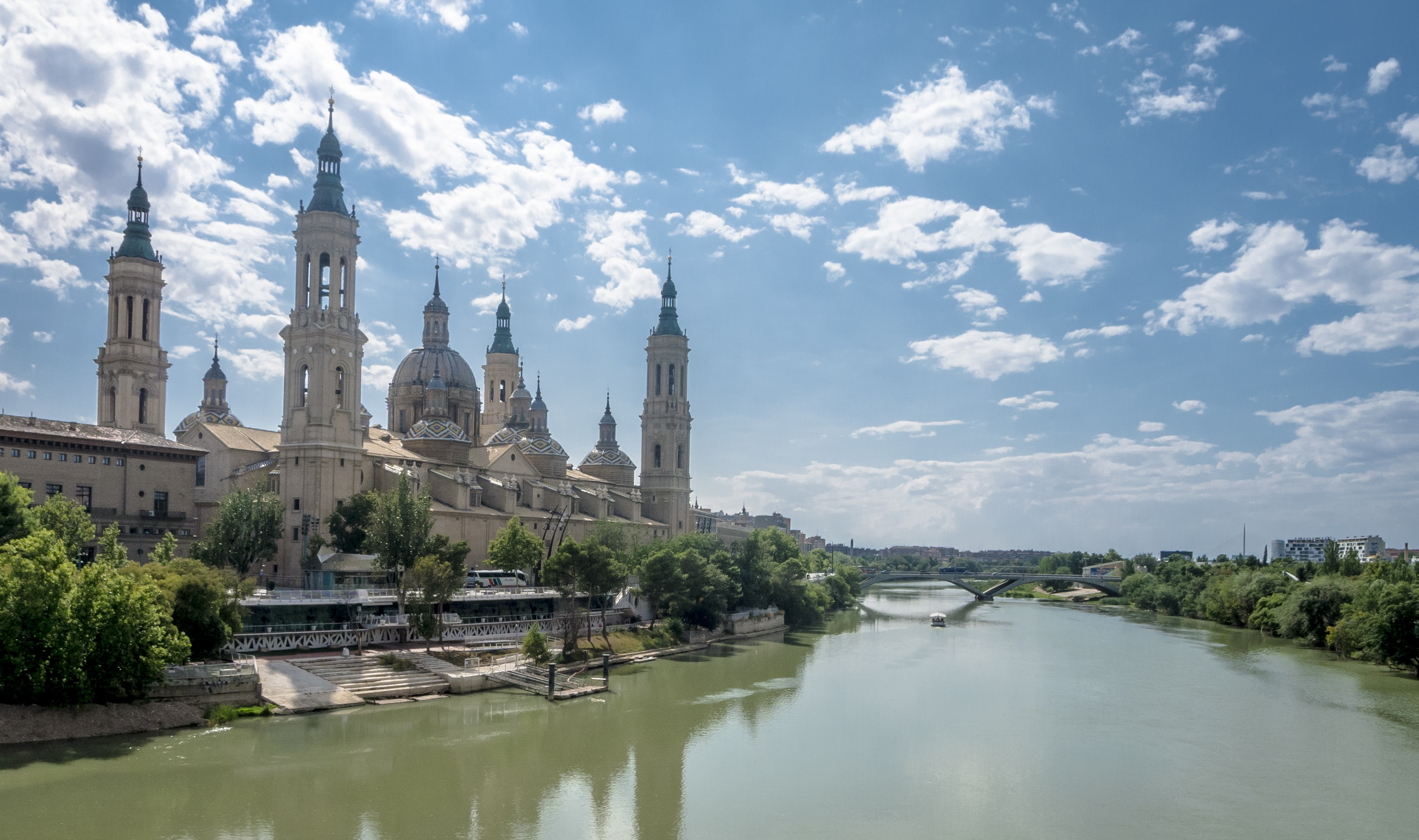 Sensational Spain - Sanctuary Of Our Lady Of The Pillar, Saragossa, Spain
