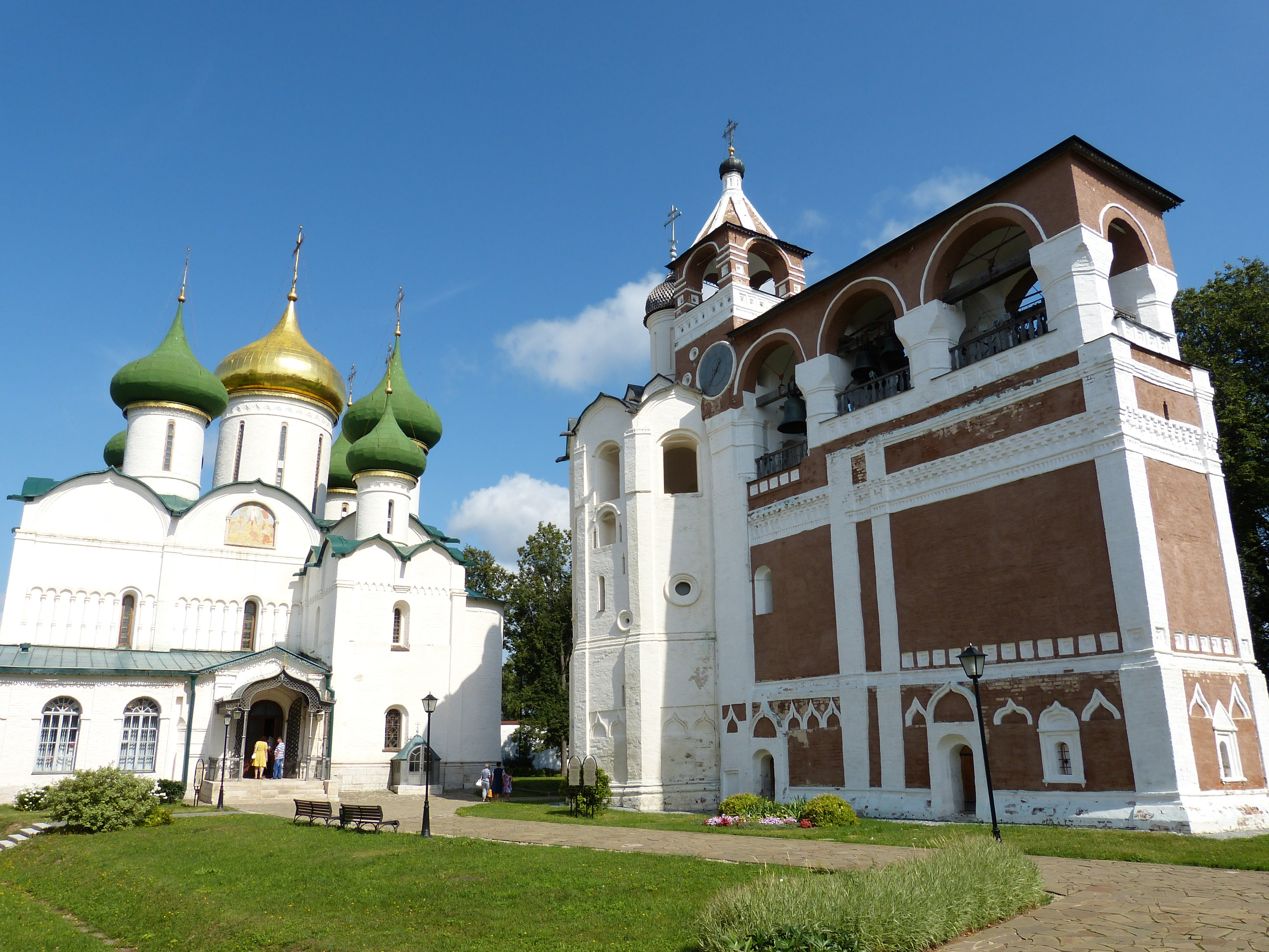The Golden Ring - Saviour Monastery of St. Euthymius, Suzdal, Russia