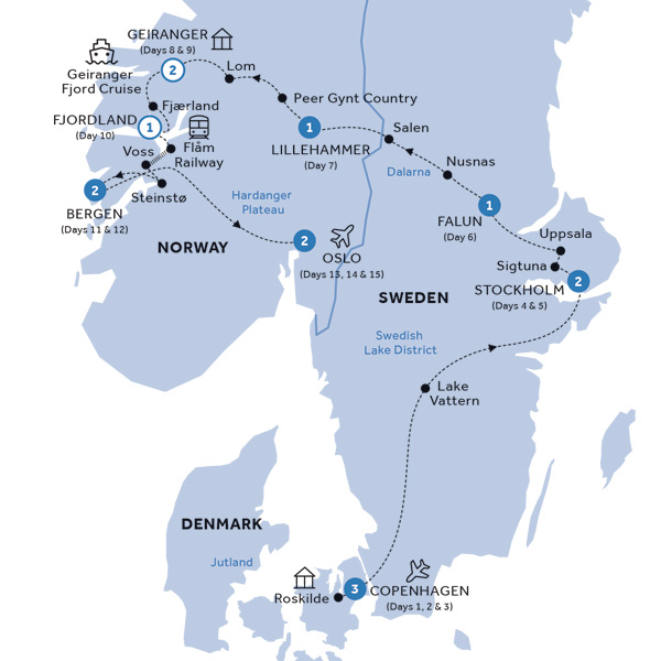 Spectacular Scandinavia & its Fjords