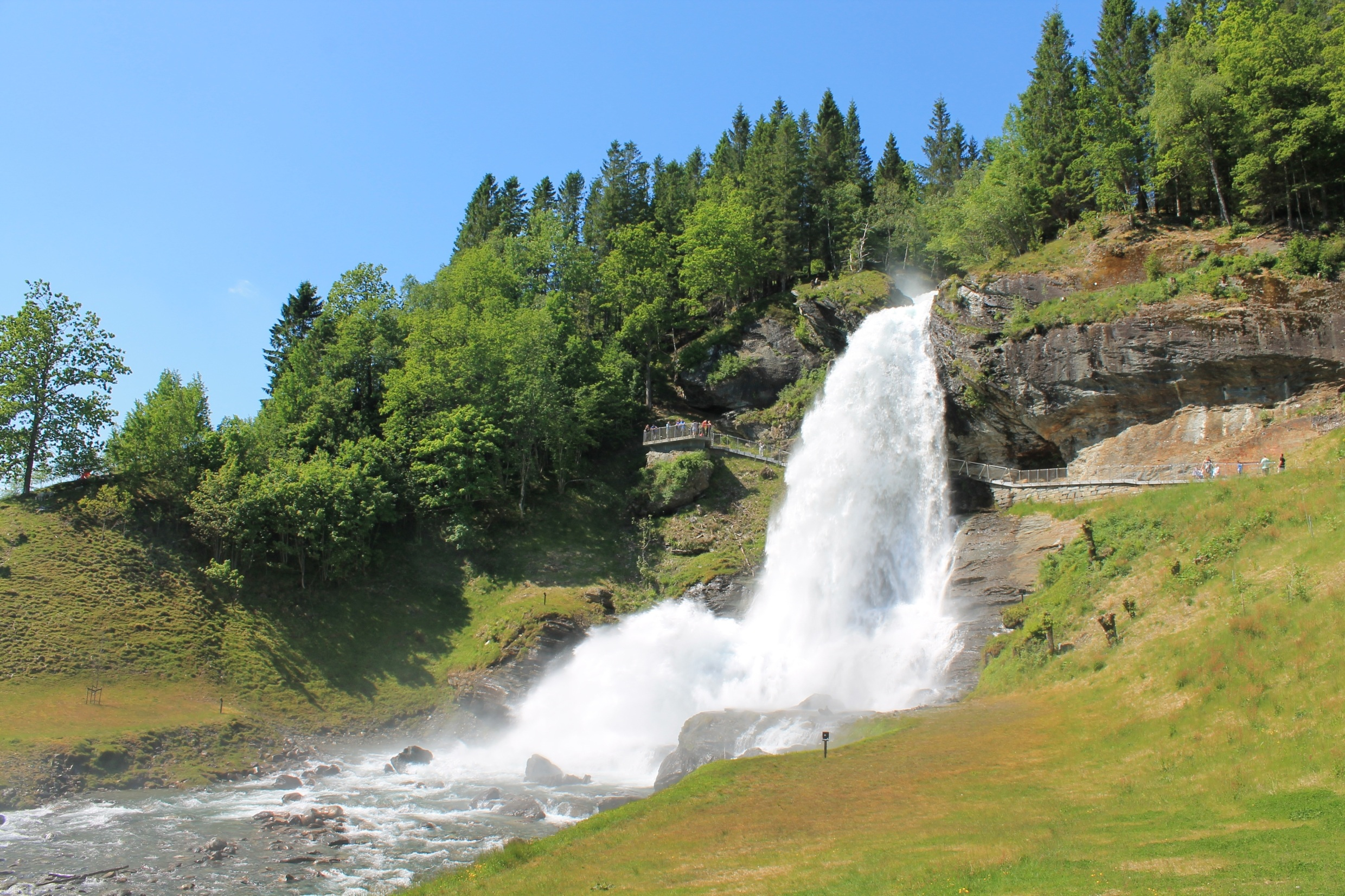 Norway: Fjords & Glaciers | Steinsdalsfossen Waterfall, Steine, Norway