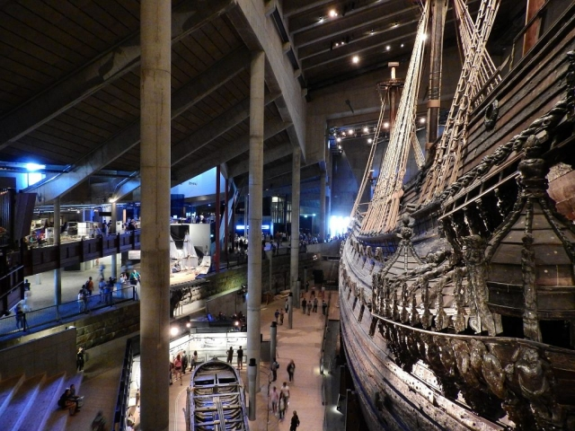 Scandinavian Heritage - Vasa Galleon, Stockholm, Sweden