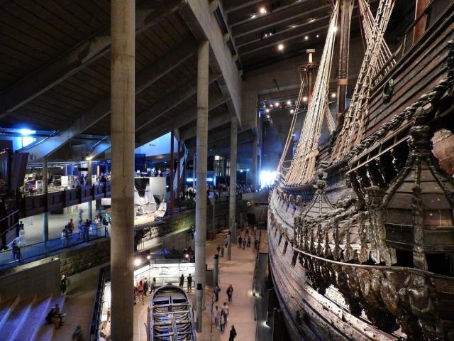 Scandinavian Heritage - Vasa Galleon, Stockholm, Sweden